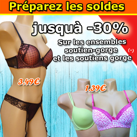 Grossiste lingerie, soutien-gorge, strings, tanga, boxers, bas, collants, leggins, pyjama, etc.