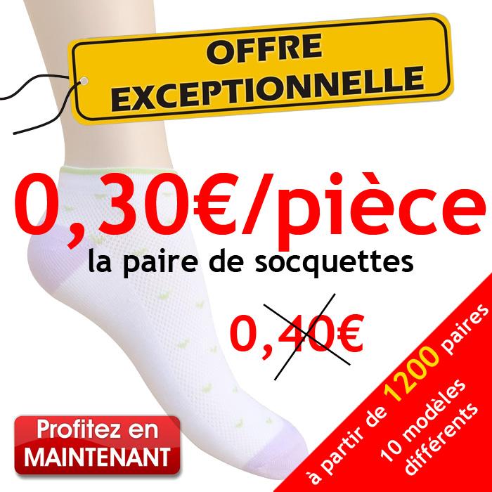 Les Chaussettes Femme - GrossisteChaussette